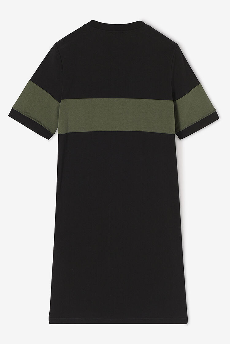 BLACK KENZO Logo Dress for women