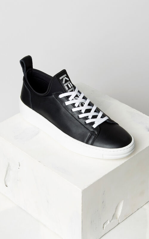 BLACK K-City Sneakers for women KENZO