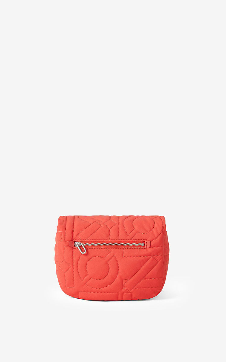 RED ORANGE Arctic small messenger bag for unisex KENZO