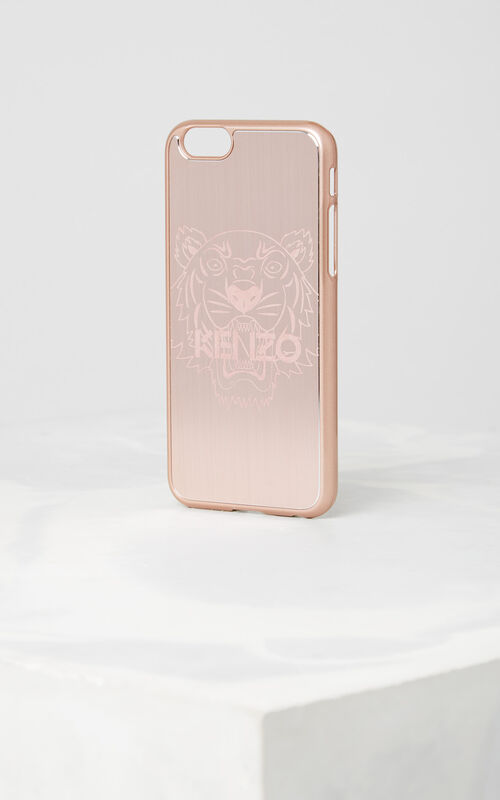 PASTEL PINK Tiger Iphone 6+/6S+ case for unisex KENZO