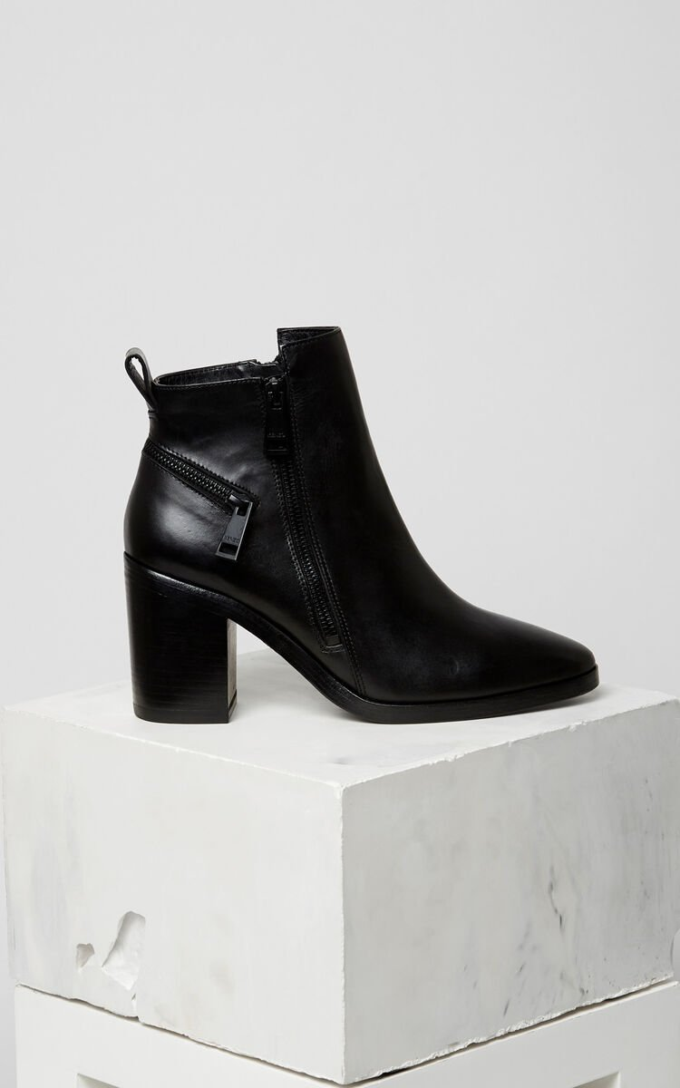BLACK Totem Heeled Boots for women KENZO