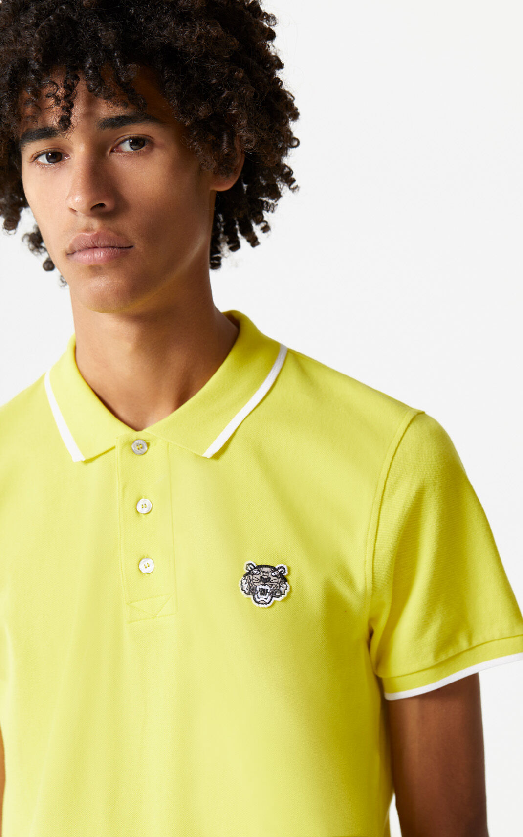 LEMON Adjusted Tiger Polo for men KENZO