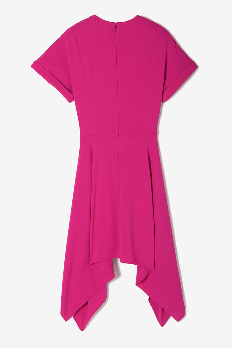 DEEP FUSCHIA 'Peplum' Dress for women KENZO
