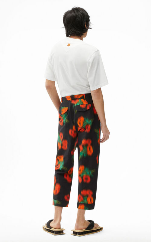CHERRY 'Coquelicot' trousers for men KENZO