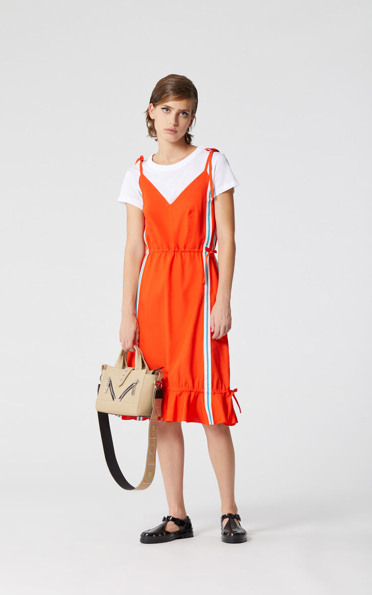 MEDIUM RED 'High Summer Capsule Collection' dress for women KENZO