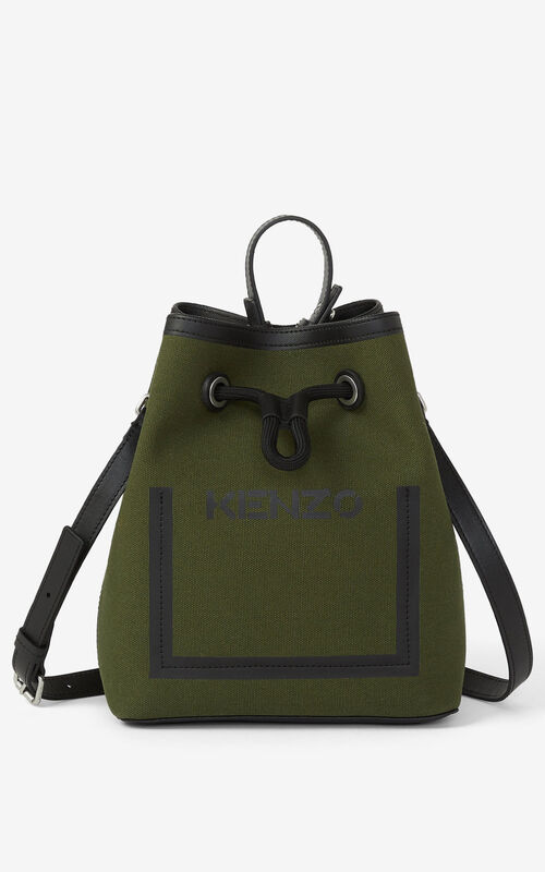 FERN Kanvas bucket bag for unisex KENZO