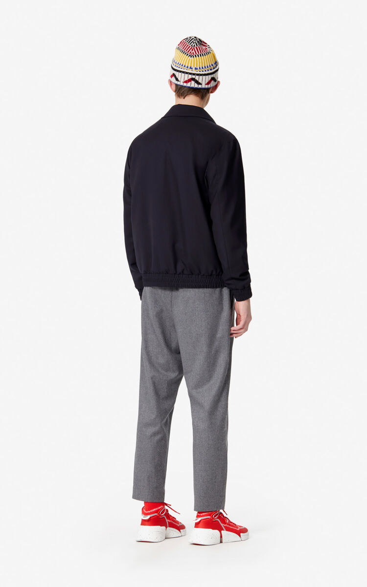 MISTY GREY Flannel trousers  for men KENZO