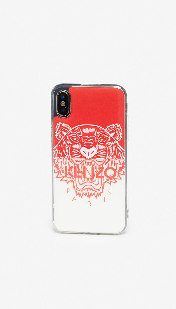 MEDIUM RED iPhone X/XS Tiger case for women KENZO