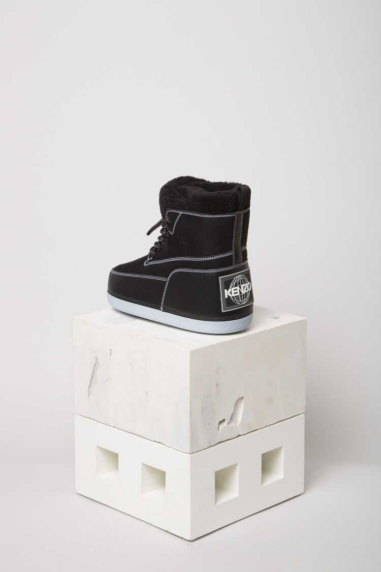 BLACK Nebraska Boots for women KENZO