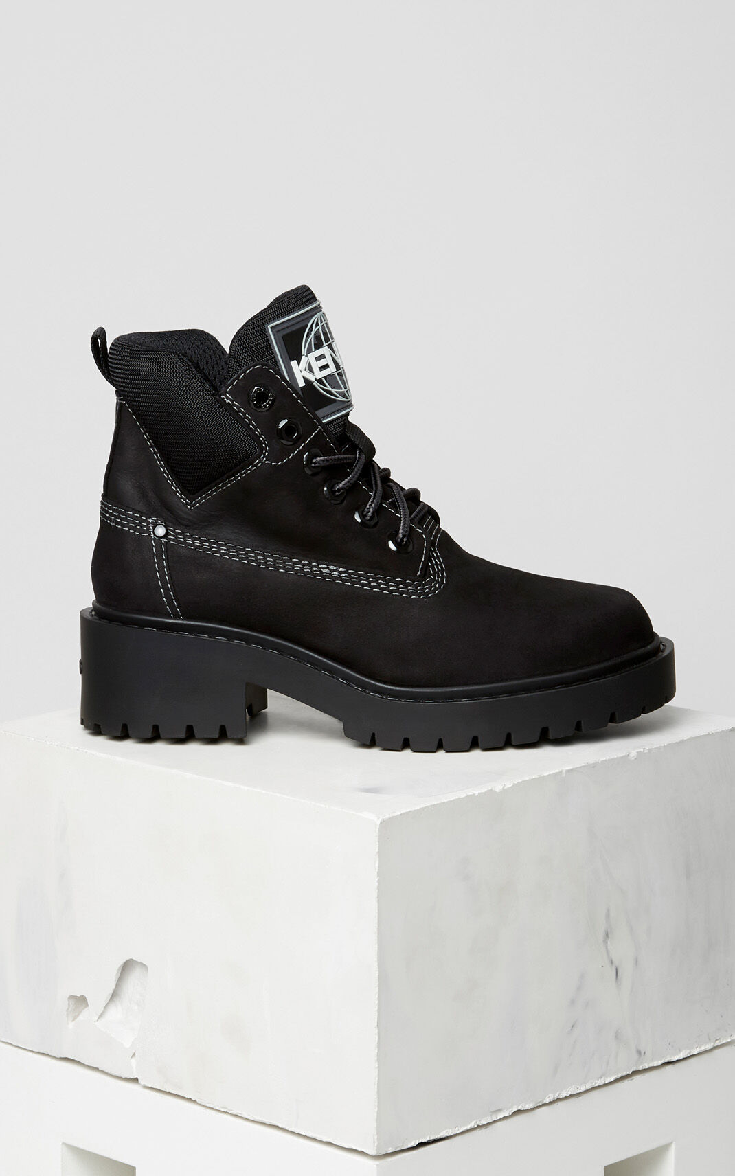 BLACK Sierra Boot for women KENZO