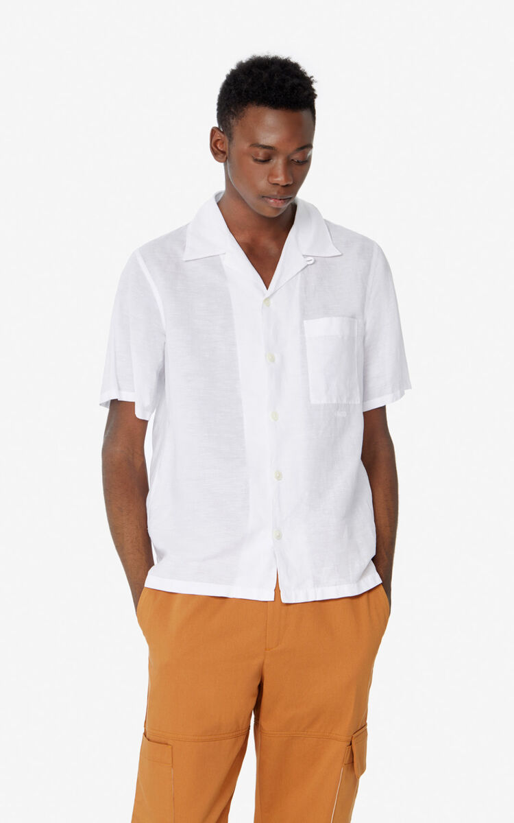 WHITE Casual shirt for men KENZO