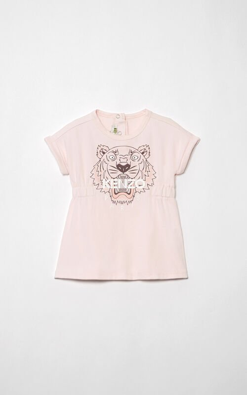 DEEP PINK Tiger Dress  for women KENZO