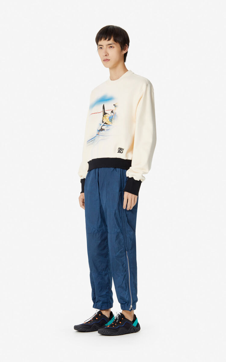 ECRU 'Ama Diver' sweatshirt for men KENZO