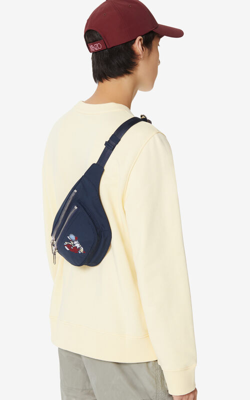 MIDNIGHT BLUE 'Valentine's Day Capsule' 'Lucky Star' bumbag for women KENZO