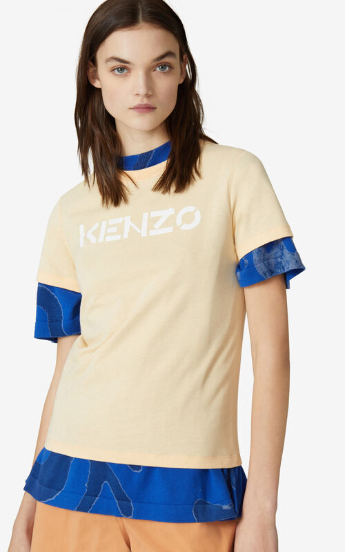 PEACH KENZO Logo T-shirt for men
