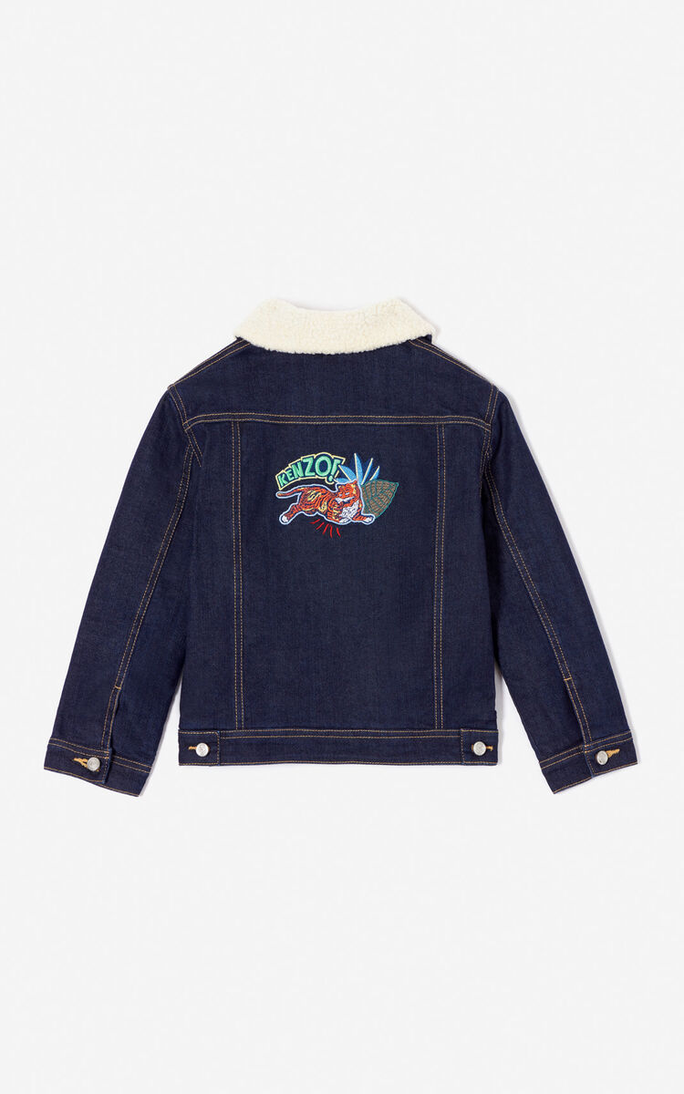 2bc9cfbef Fantastic Jungle' denim jacket for LAST CHANCE Kenzo | Kenzo.com