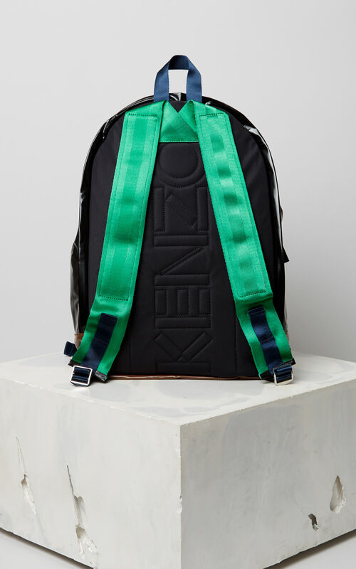 BLACK 'Bamboo Tiger' backpack for unisex KENZO
