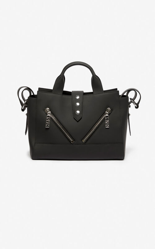 BLACK Kalifornia Gommato Leather for women KENZO