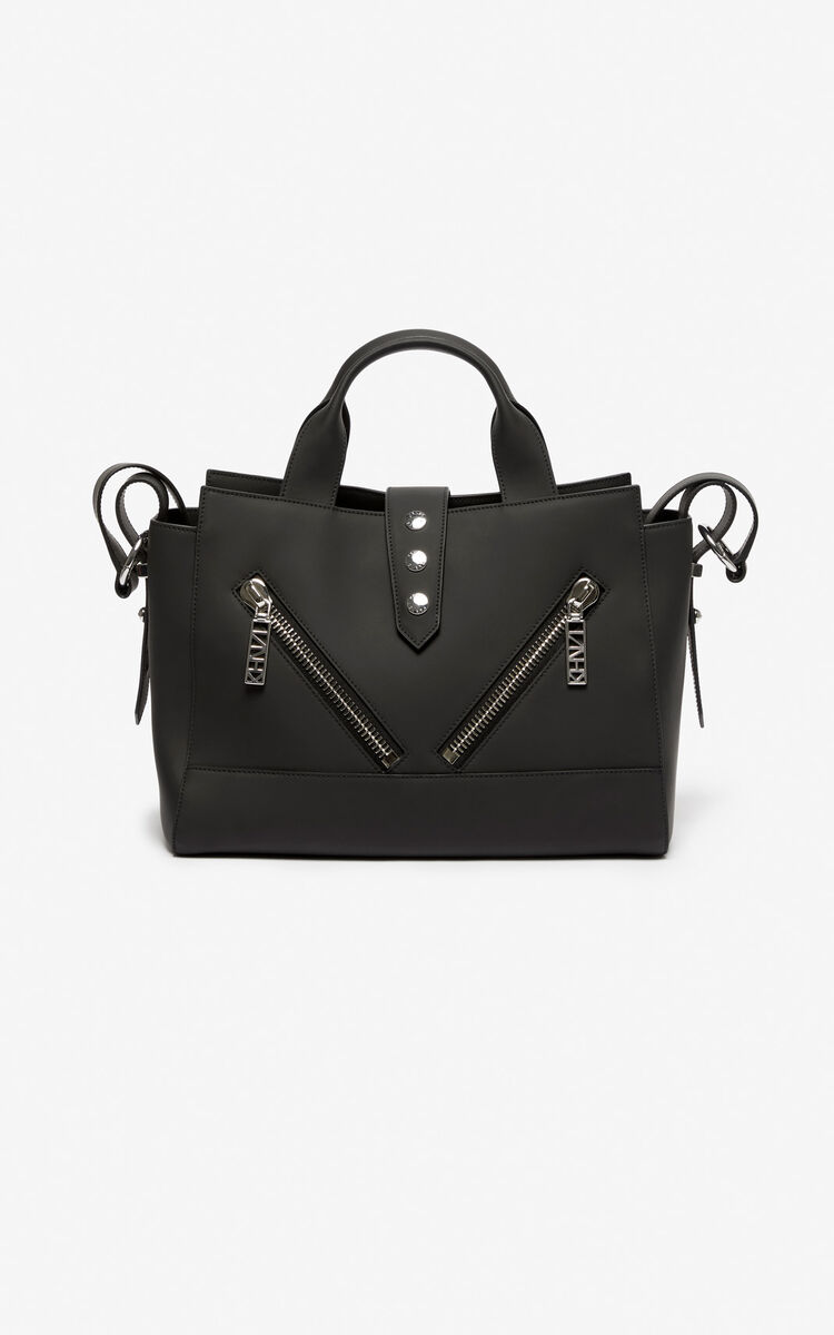 BLACK Kalifornia Gommato Leather for unisex KENZO