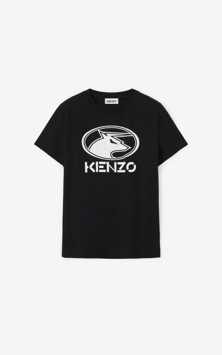 BLACK 'Chinese New Year Capsule' 'KENZO Ox' T-shirt for women