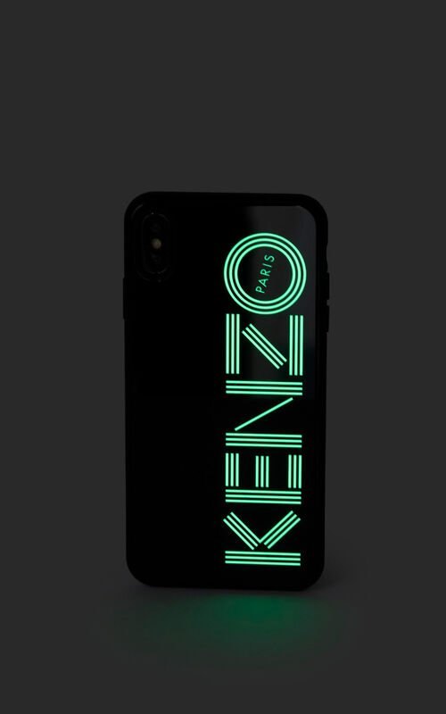 BLACK iPhone X/XS Max Case Fluorescent for women KENZO