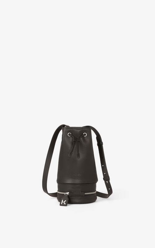 POPPY 'Poppy' tote bag and leather bucket bag for unisex KENZO