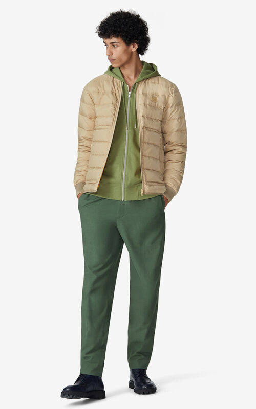 BEIGE Reversible quilted jacket for men KENZO
