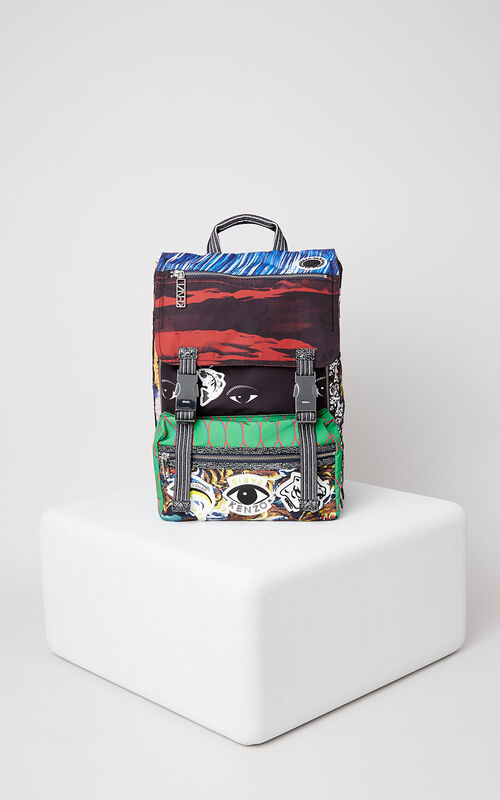 MULTICOLOR Multi Icons Backpack for unisex KENZO