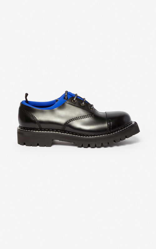 SLATE BLUE Kamden brogue for unisex KENZO