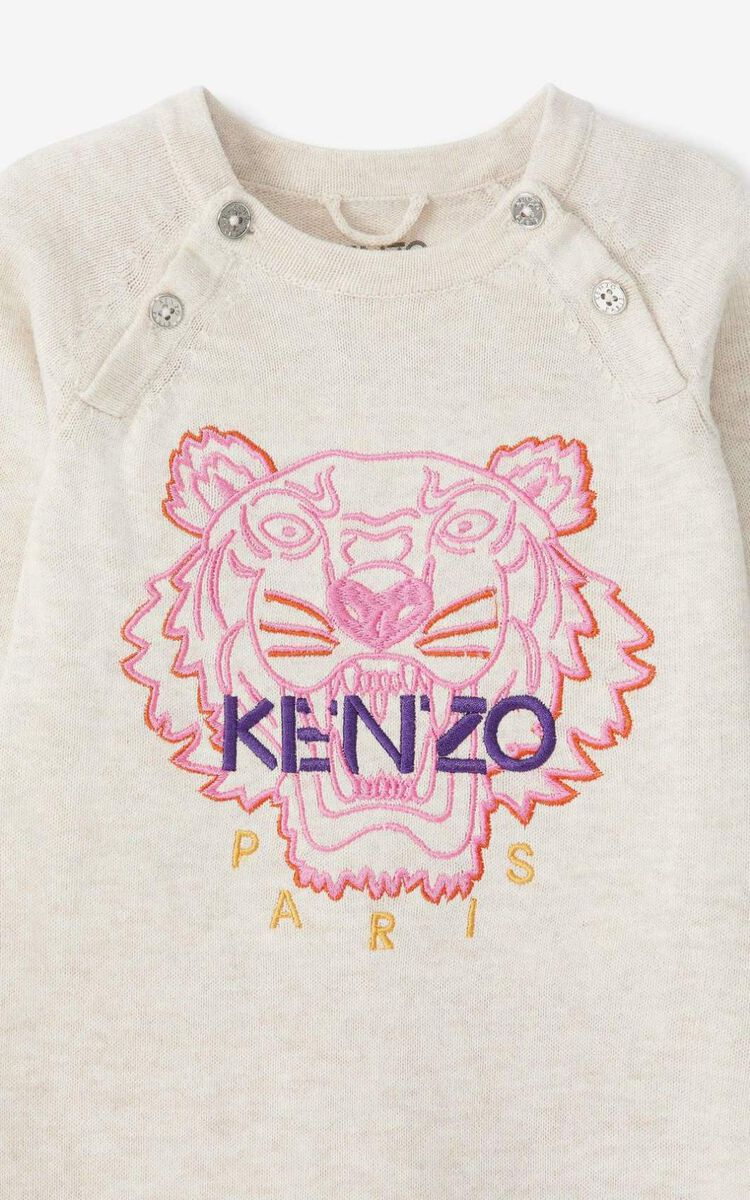 BEIGE Tiger all-in-one for men KENZO