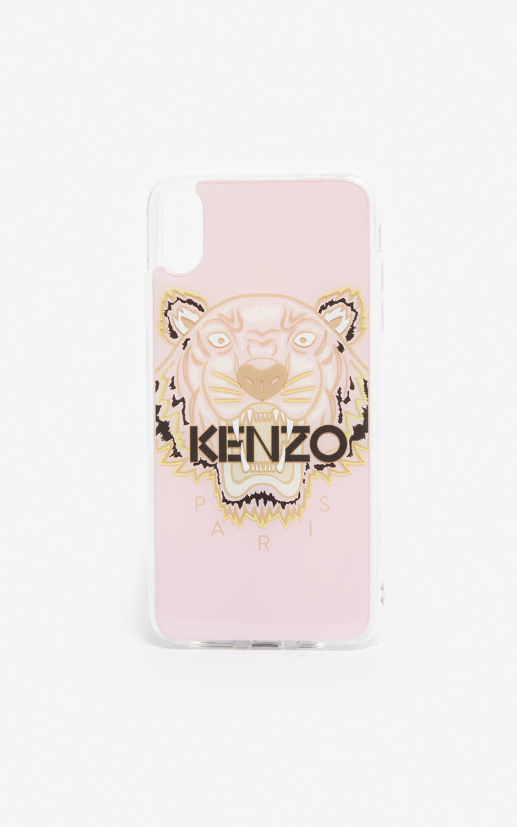 PASTEL PINK iPhone XS Max Tiger case for unisex KENZO