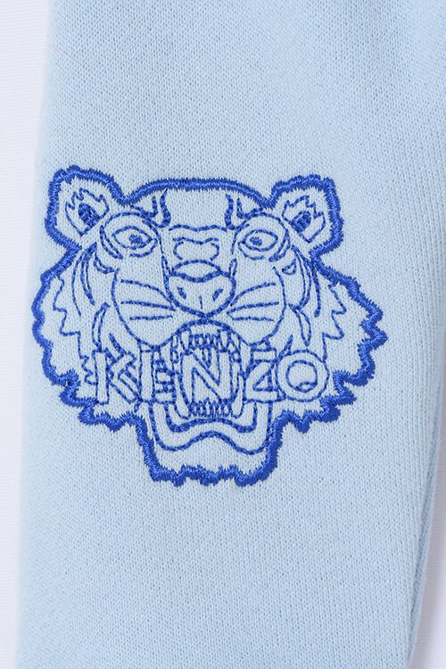 SKY BLUE Tiger Jogg Pants for men KENZO
