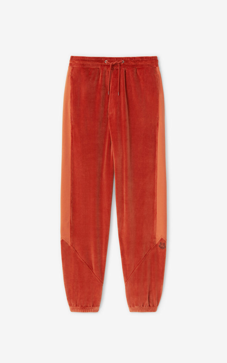 POPPY Velour joggers for men KENZO