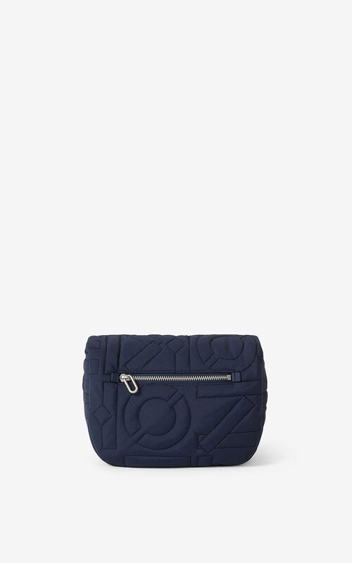 NAVY BLUE Arctic small messenger bag for unisex KENZO