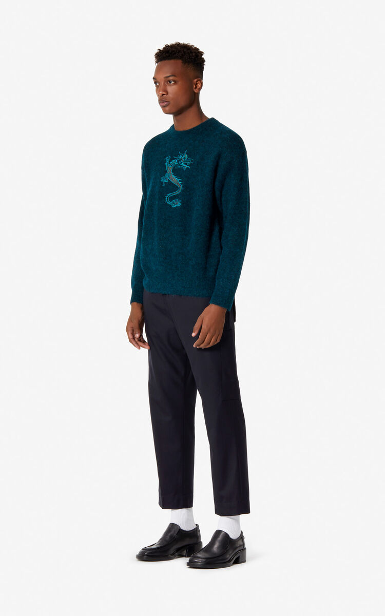 PINE 'Dragon' Jumper for women KENZO