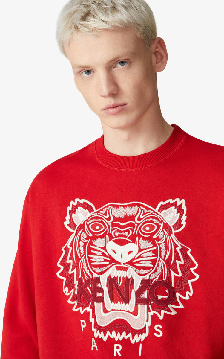 CHERRY Tiger sweatshirt for men KENZO