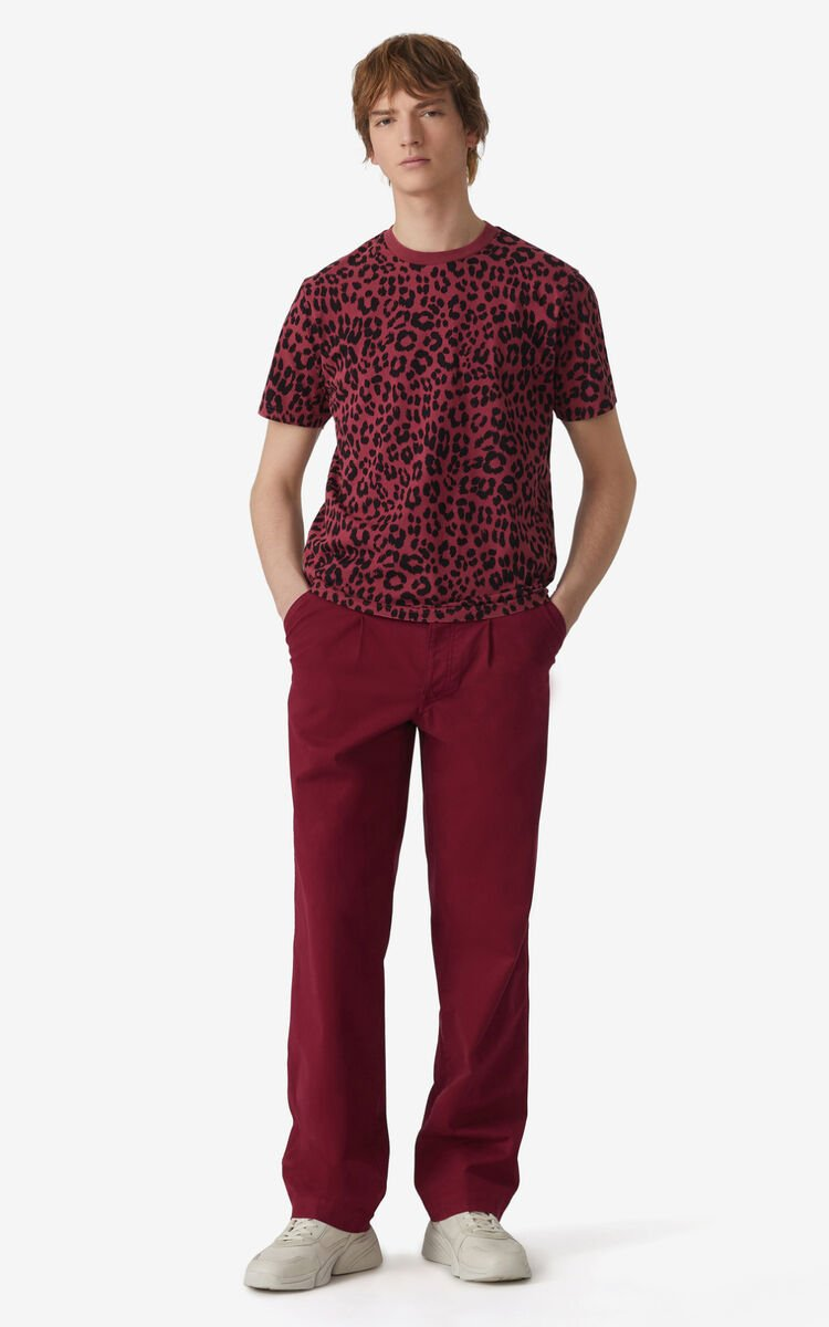 CARMINE Tonal 'Leopard' t-shirt for men KENZO