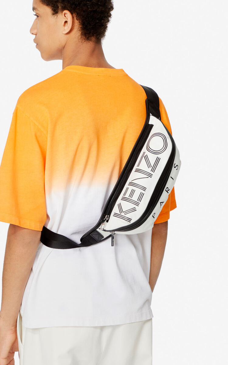 OFF WHITE KENZO Logo bumbag for men