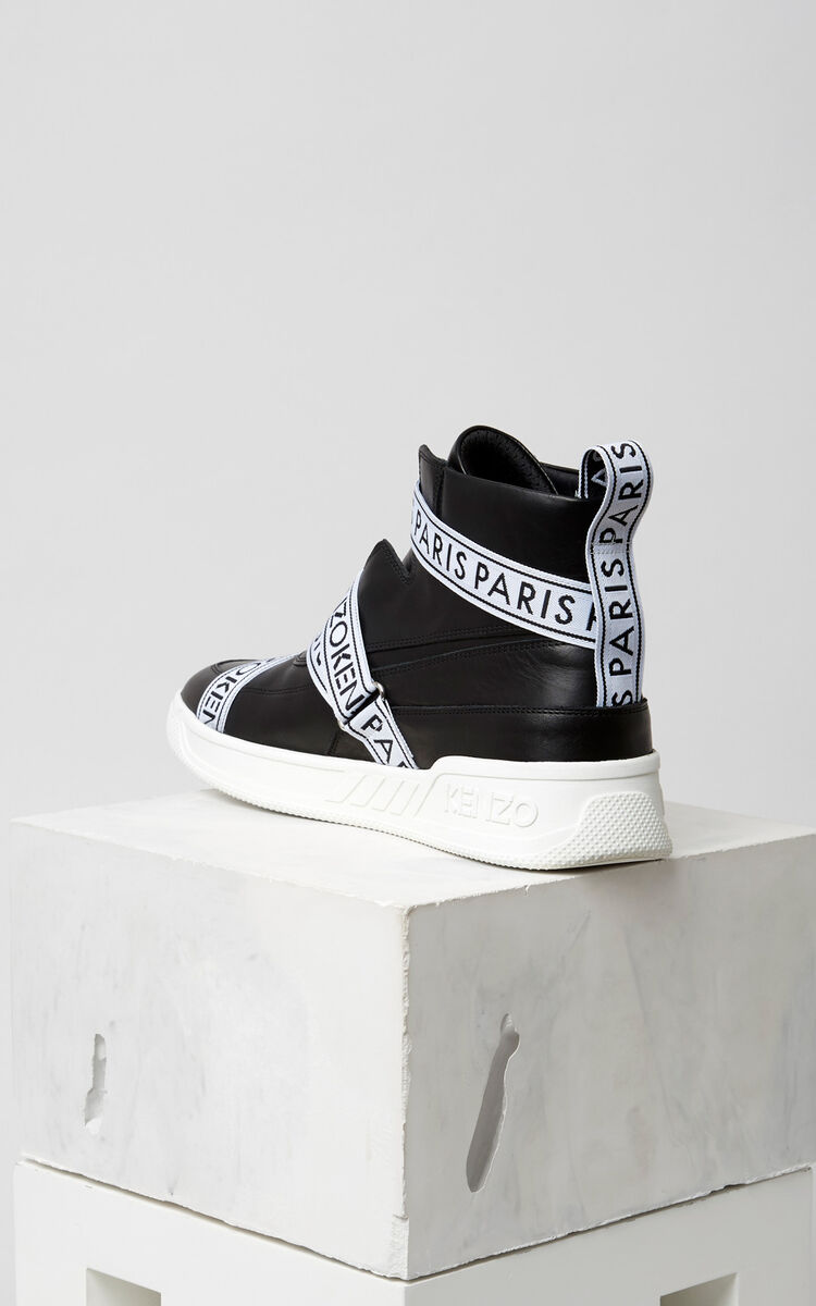 BLACK Coby Sneakers for unisex KENZO