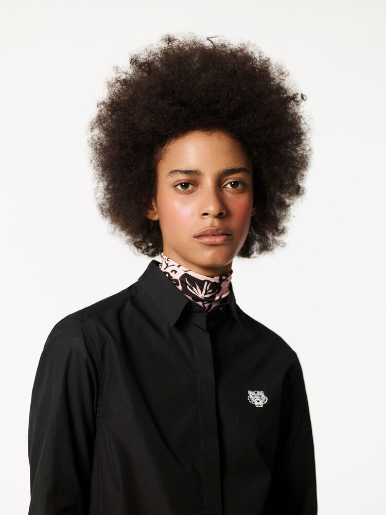 BLACK Tiger Shirt for women KENZO