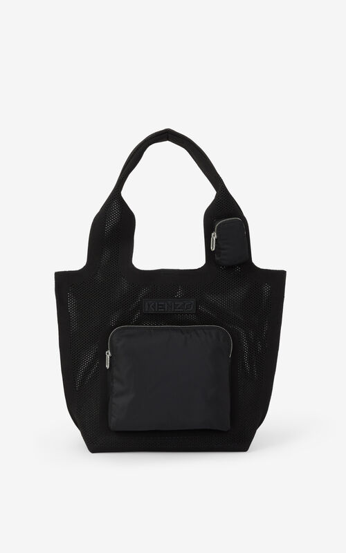BLACK Skuba small tote bag for unisex KENZO