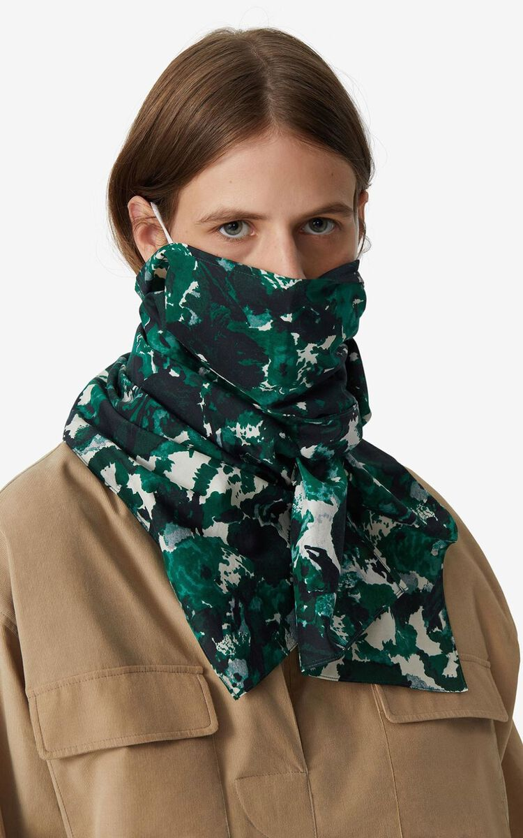 PINE Scarf mask holder for women KENZO