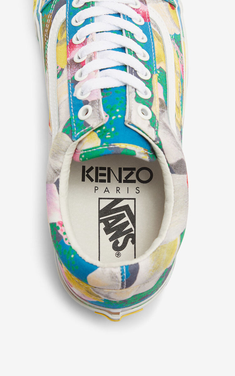 LEMON OLD SKOOL 'Tulipes' KENZO/VANS sneakers  for unisex