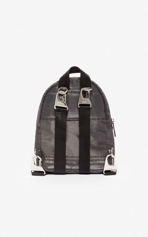 ANTHRACITE 'Holiday Capsule' mini Tiger 'Kampus' backpack for unisex KENZO