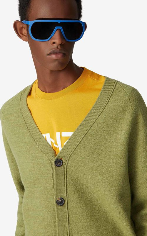 OLIVE Wool cardigan for men KENZO
