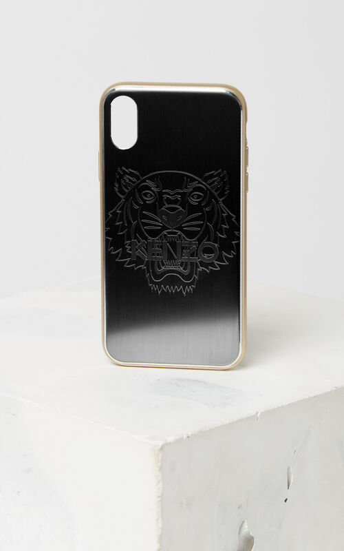 GOLD iPhone X Tiger Case for men KENZO