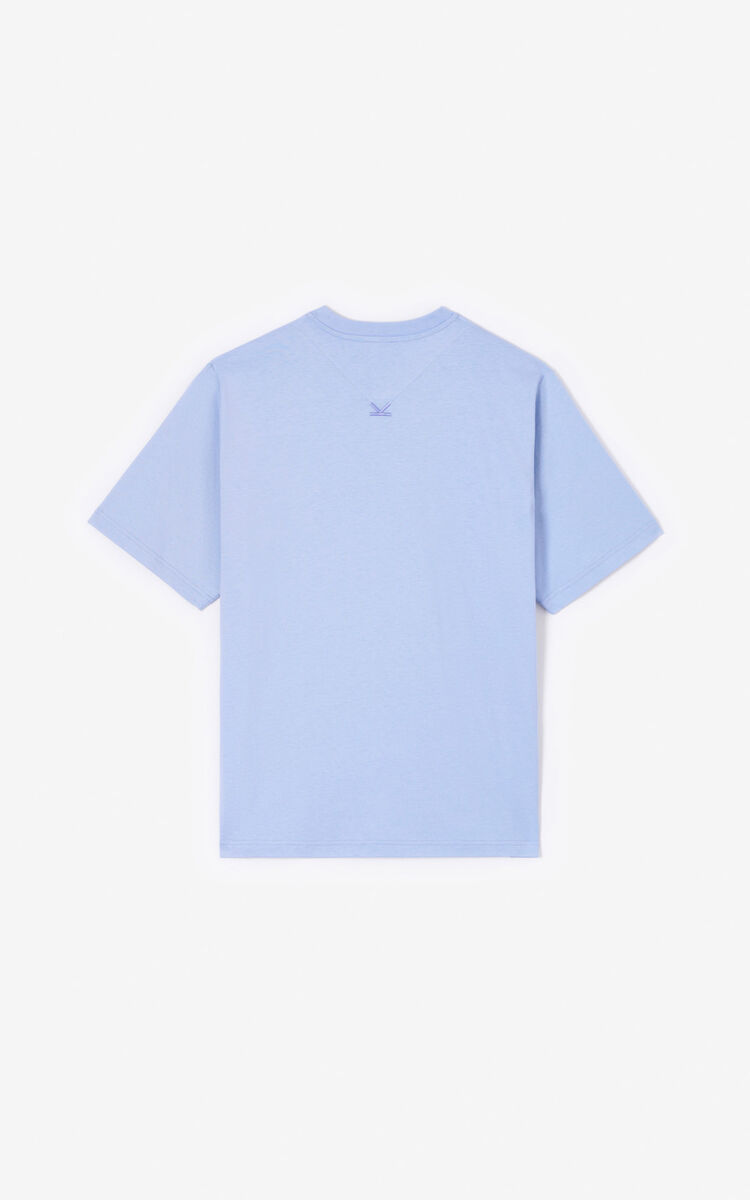 LAVENDER KENZO Logo T-shirt for men