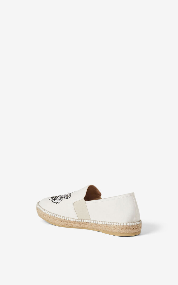 OFF WHITE Tiger elasticated espadrilles for global.none KENZO