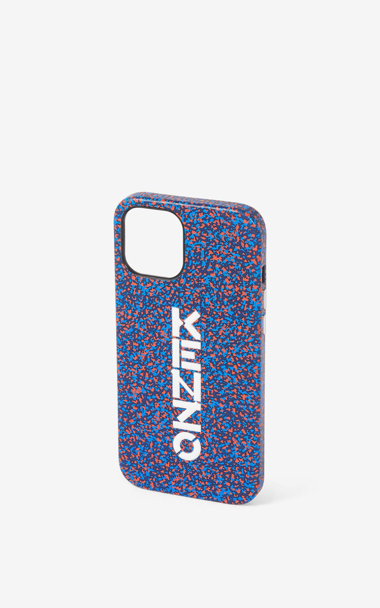 DEEP SEA BLUE iPhone 12/12 Pro 'verti' case for unisex KENZO