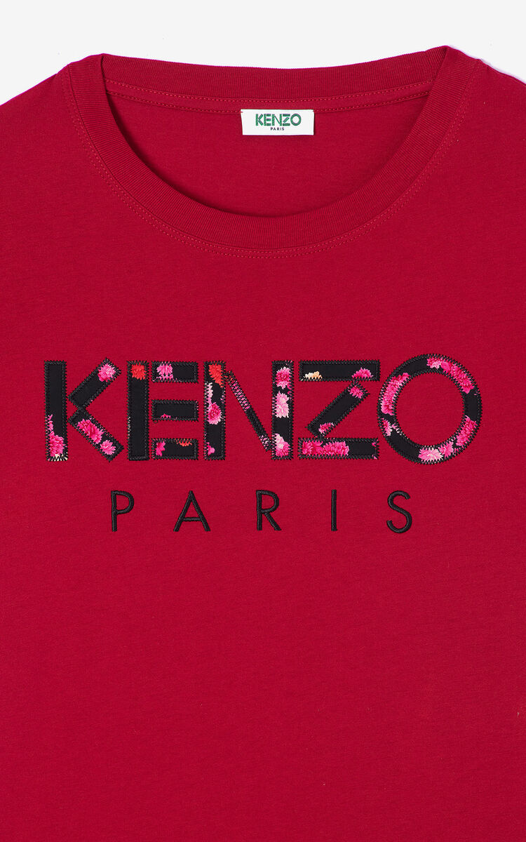 CHERRY 'Peonies' KENZO Paris T-shirt for women